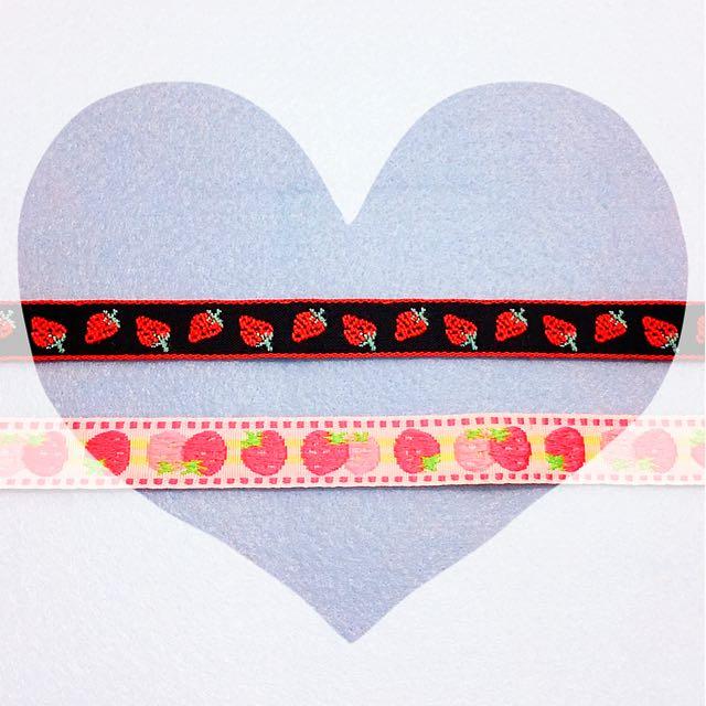 [現貨]日系可愛 草莓 頸鍊 🍓青春美少女