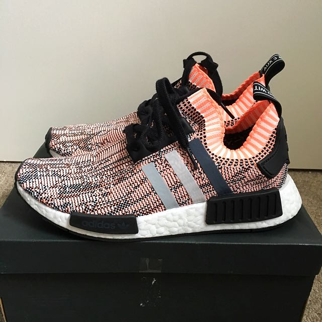 "Adidas NMD Primeknit ""salmon""  Size8.5"