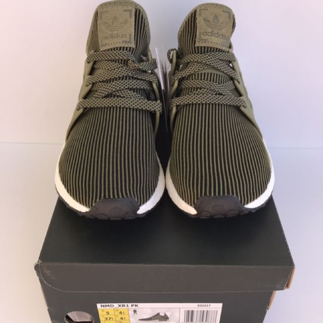 Adidas NMD XR1 PK Olive Womens Size US 6 BRAND NEW
