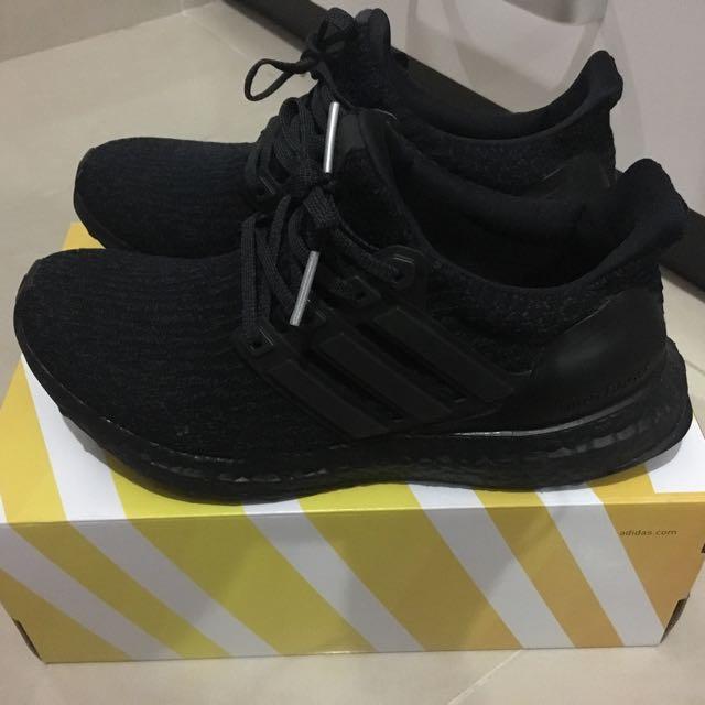 pretty nice e2b3a a9a90 Adidas Ultra Boost 3.0 Triple Black