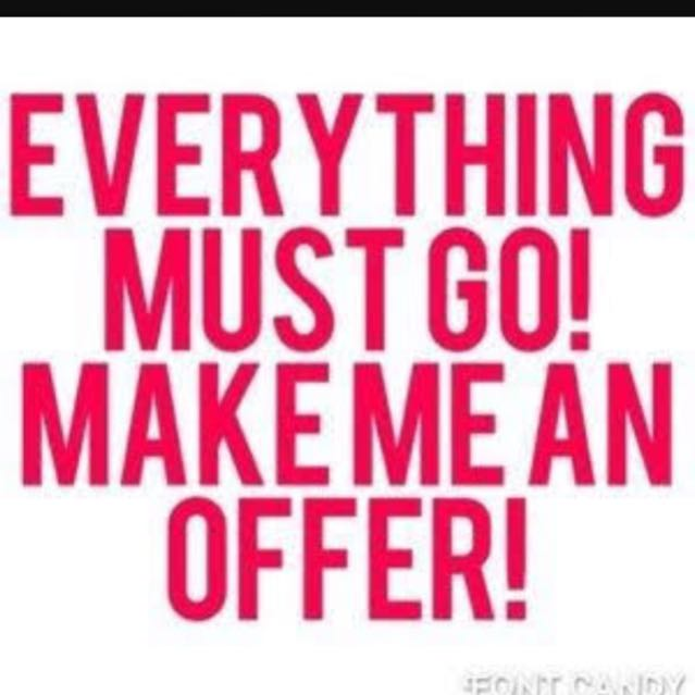 All Reasonable Offers Accepted