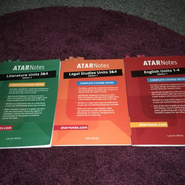 ATAR Notes Complete Course Notes