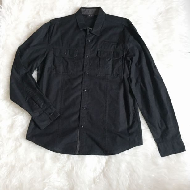 Authentic Black Armani Exchange Size L