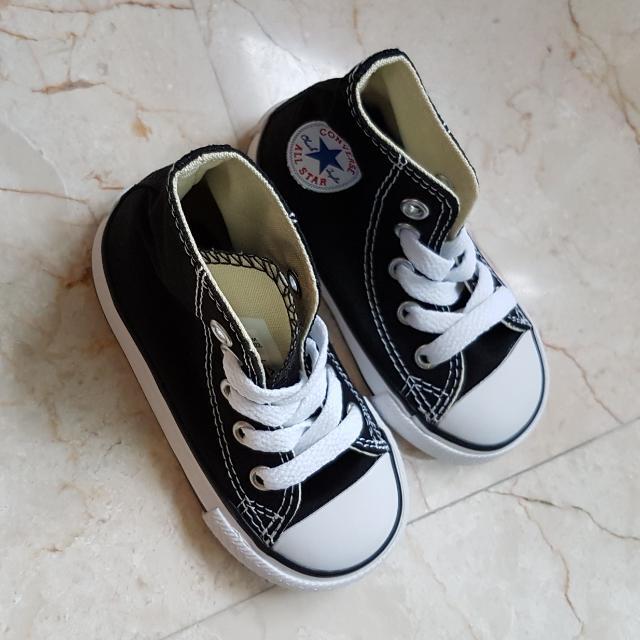 afb771c81e5ec Authentic Converse Children High Cut Navel Blue Shoe, Babies & Kids ...