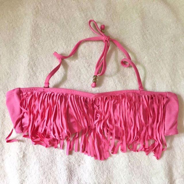 Authentic H&M Fringe Bandeau Bikini