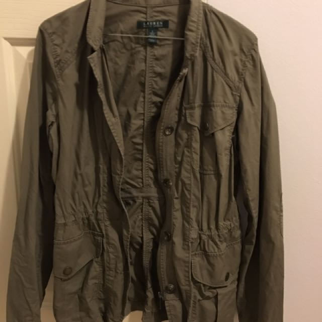 Authentic Ralph Lauren Khaki Parka Size S
