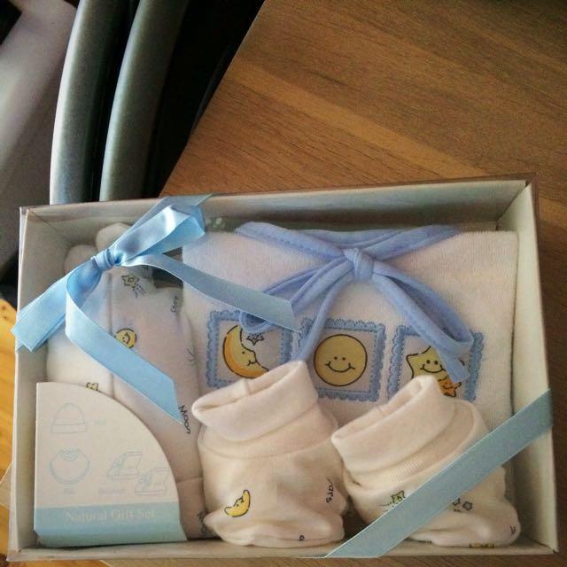 Babyway Hat & Booties Gift Set