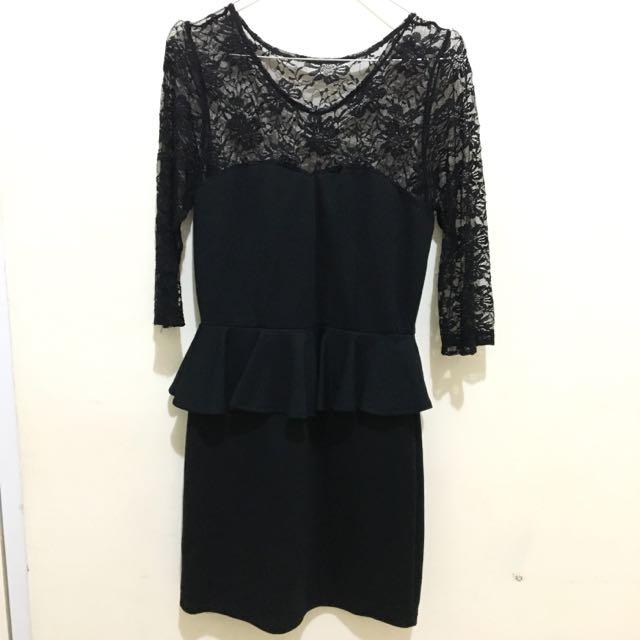Black Dress by AVENUE