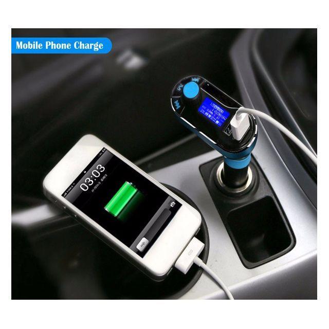 Bluetooth FM Transmitter MP3 USB Charger for Samsung Nexus HTC LG iPhone Car Kit