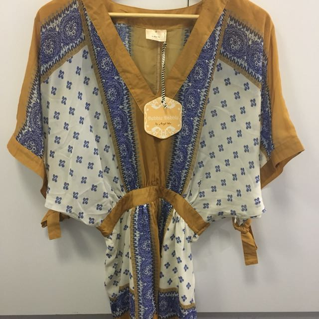 Boho Playsuit Size 8