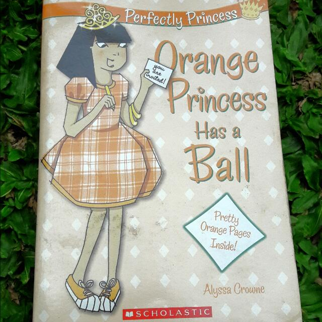 Book: Orange Princess Has A Ball