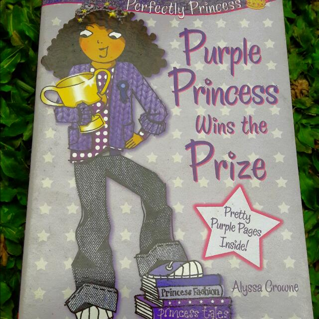 Book: Purple Princess Wins The Prize
