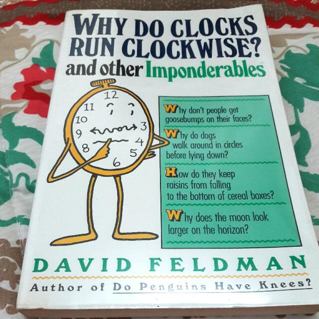 Book: Why Do Clocks Run Clockwise