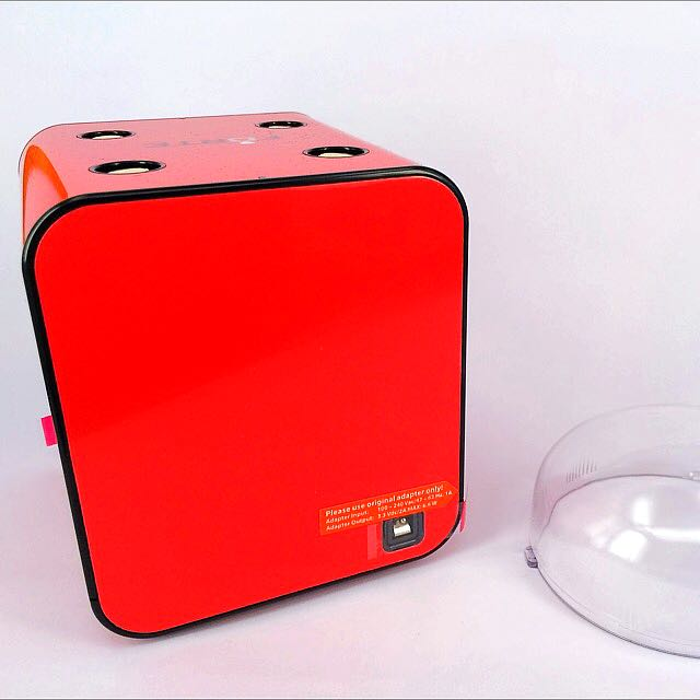 Boxy Fancy Brick Winder System With Adaptor (Red)