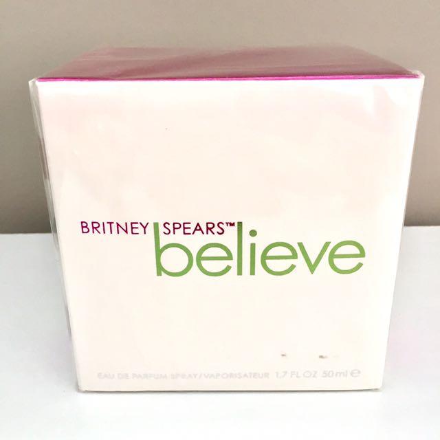 BNIB Britney Spears Believe 50ml EDP