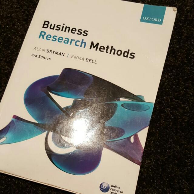 Business Research Methods 3rd Edition