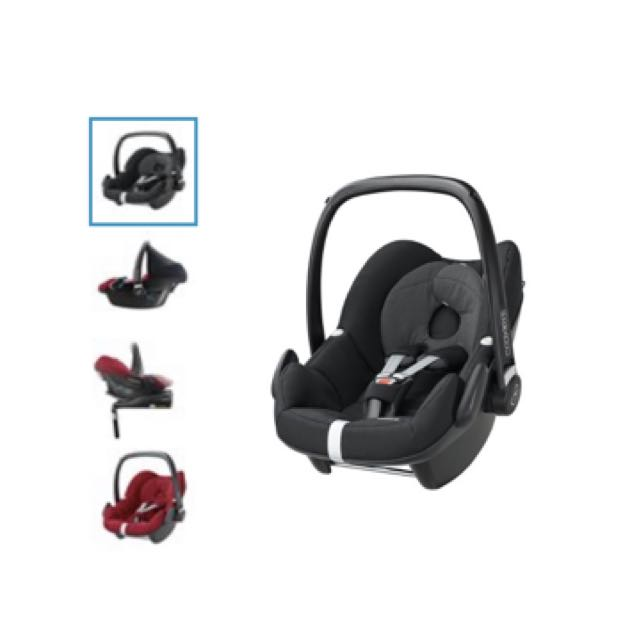 Carseat Maxi Cosi Pebble (Black)