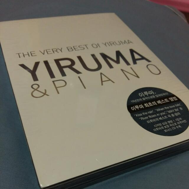CD The Very Best Of Yiruma  Yiruma & Piano