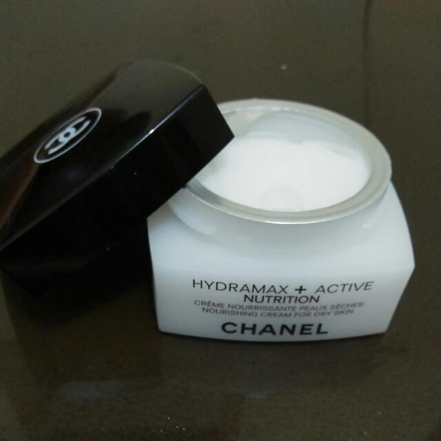 Chanel Hydramax + Active Nutrition Nourishing  Cream For Dry Skin