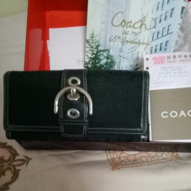 Coach名媛皮夾包