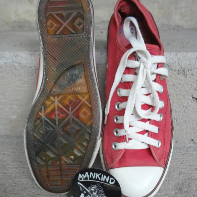 Converse Low Red Clear Sole ORIGINAL