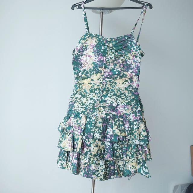 Cotton/silk Blend Dress