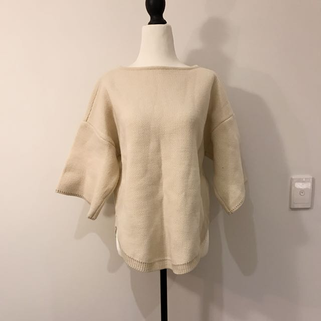 Cream/beige Sweater