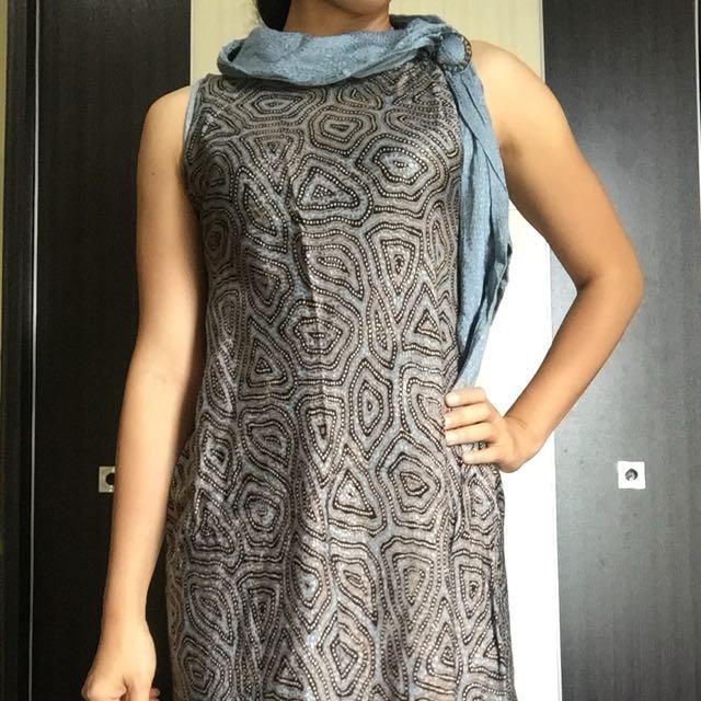 Cuci Gudang: Cute Batik Dress