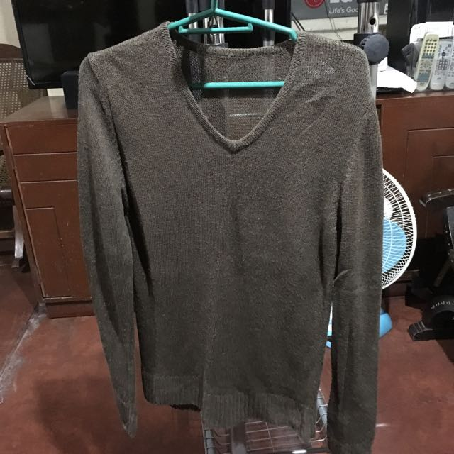 Dark Green Knitted Pullover