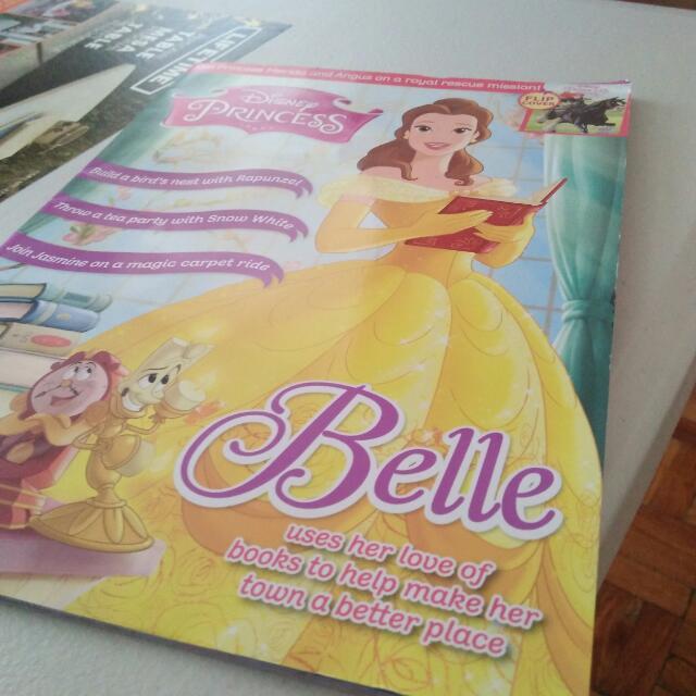 Disney Princess Magazine August 2016 Edition