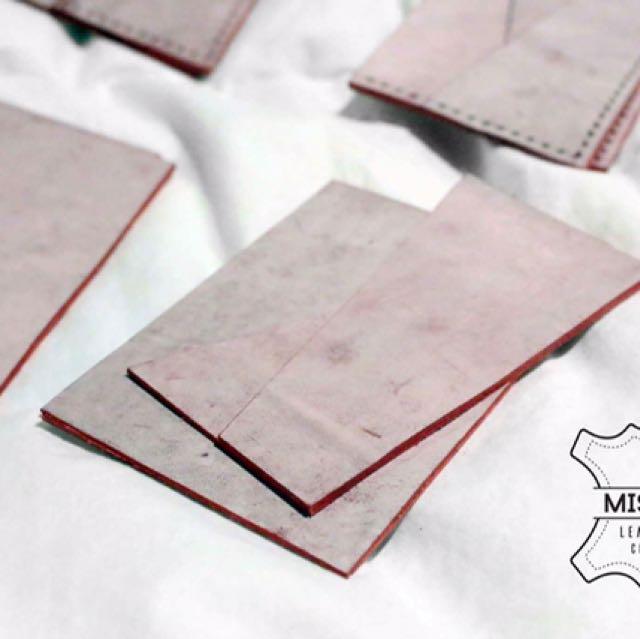 DIY Leather Craft Card Holder Set