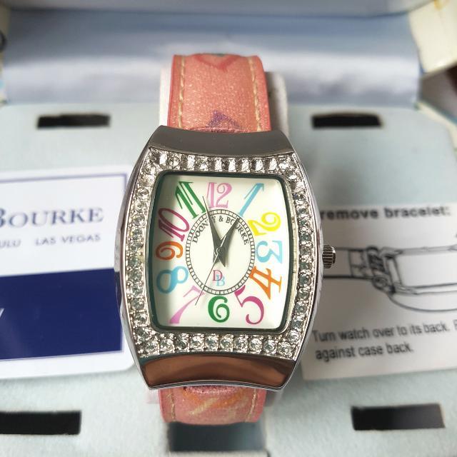 Dooney & Bourke Wristwatch Pink Watch