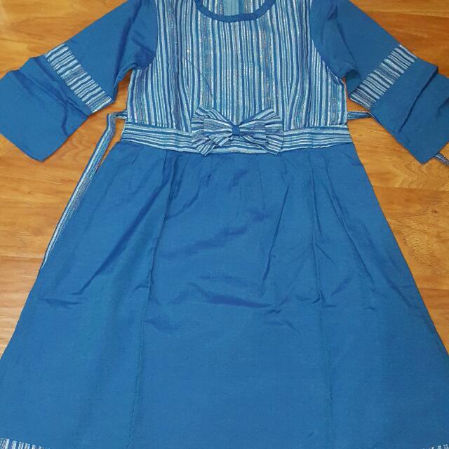 Dress Biru Anak