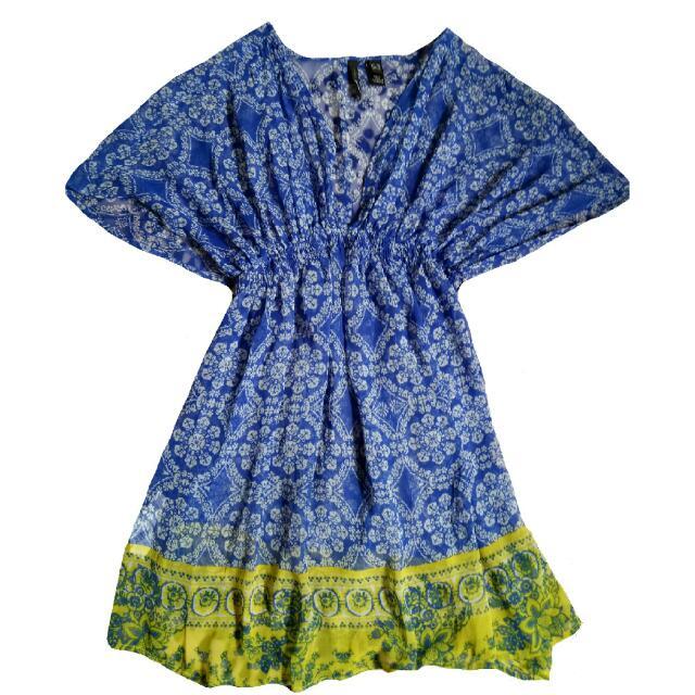 Dress Mango Blue