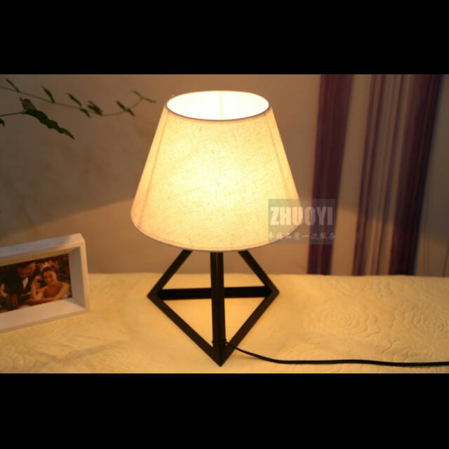 English Style Bedroom Table Lamp Furniture Home Decor On Carousell