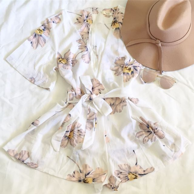 """Floral"" Playsuit Set"
