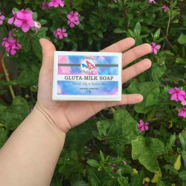 Gluta-milk Soap