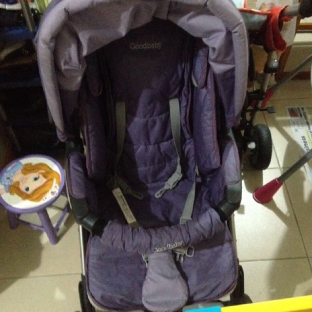 Good Baby Purple Stroller