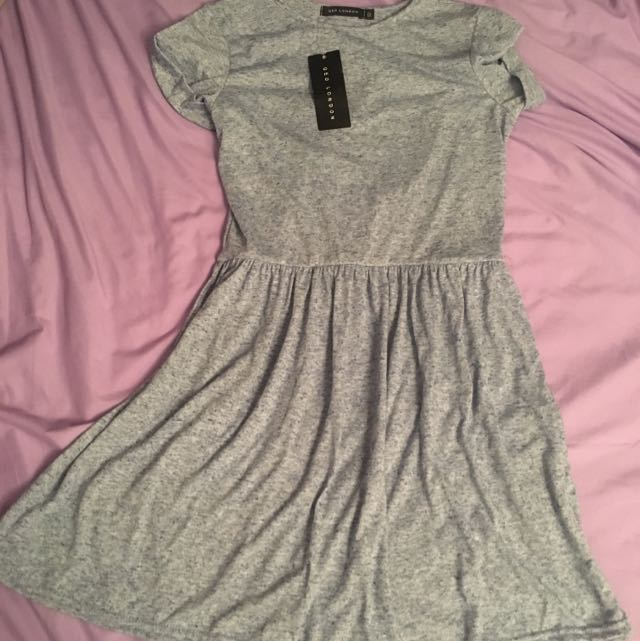 Grey Dress QED LONDON
