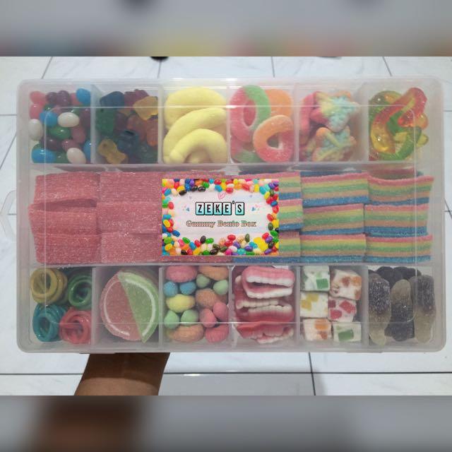Gummy Bento Box
