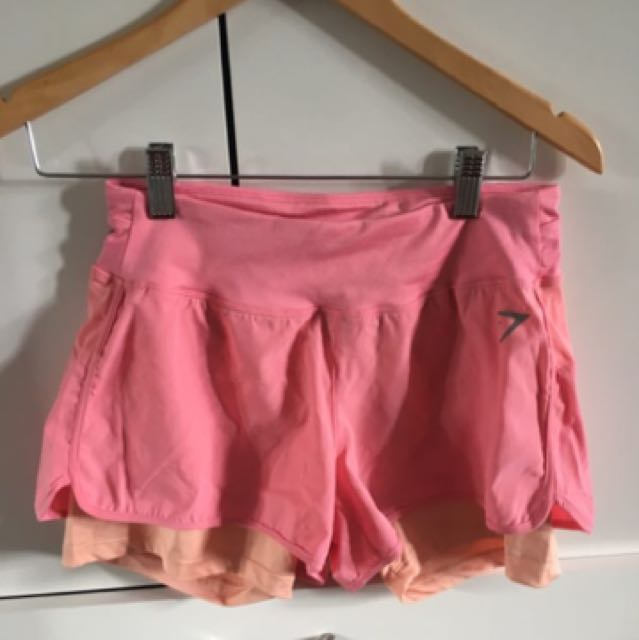 Gymshark Pink Gym Shorts