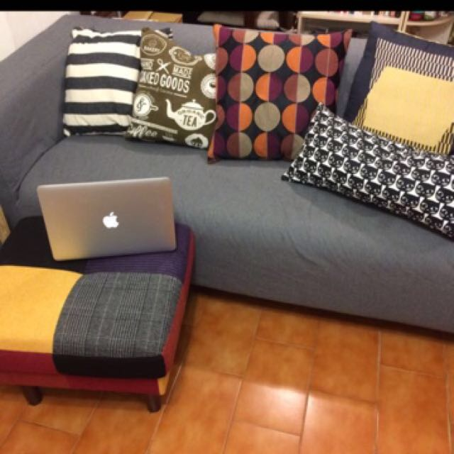 IKEA 沙發 雙人沙發+2沙發套