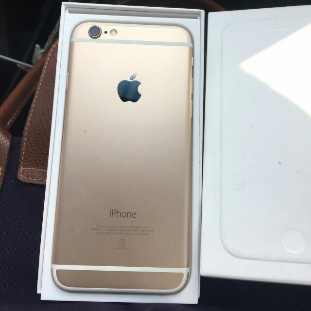iphone6 64g 金色