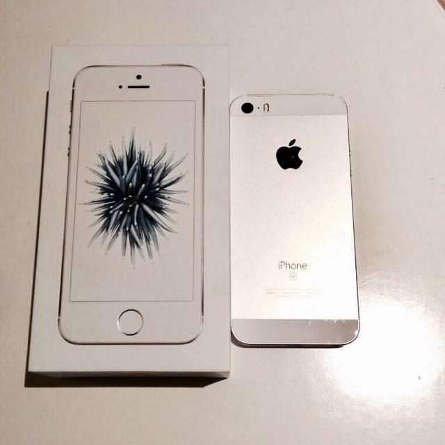 iPhone Se 64g 銀色