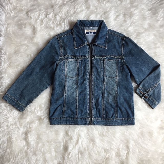 Jaket Jeans Size S Fit To M