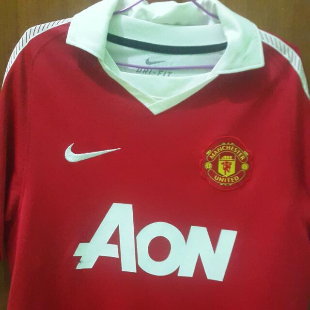 Jersey Home Man.United Mirror 1:1