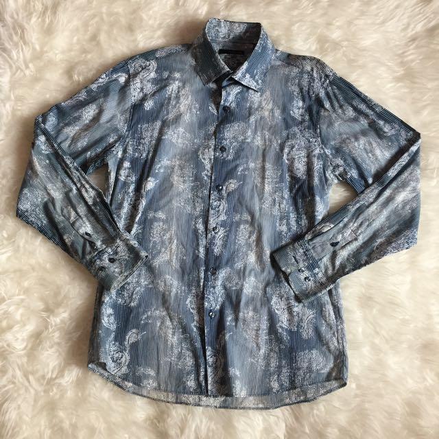 Kemeja Zara Man Blue Size 42 (XL)
