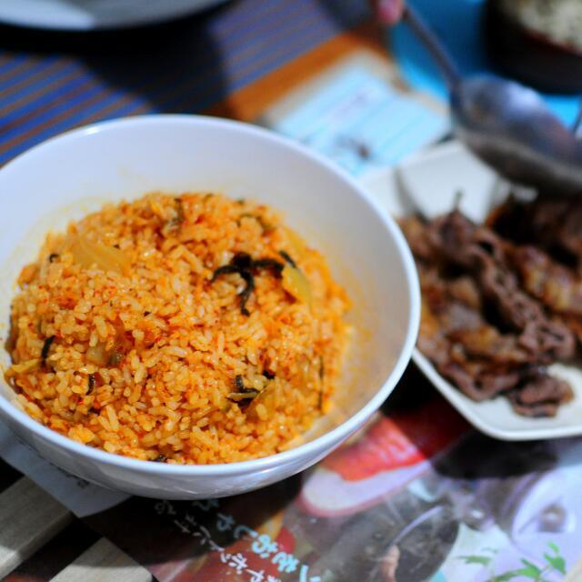 Kimchi Rice Bokkeumbap