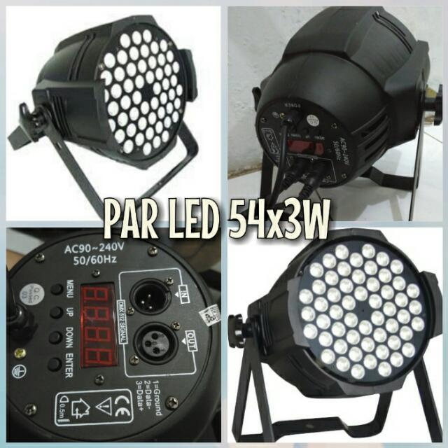 Lampu Par LED 54X3W