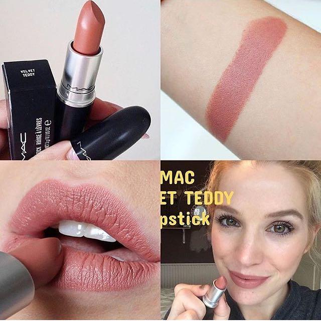 Lipstick MAC Velvet Teddy